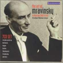 Yevgeni Mravinsky - The Art of Mravinsky, 7 CDs