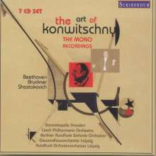 Franz Konwitschny - The Art of Konwitschny (The Mono Recordings), 7 CDs
