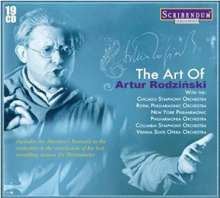The Art of Artur Rodzinski, 19 CDs
