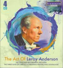 Leroy Anderson (1908-1975): The Art of Leroy Anderson, 4 CDs