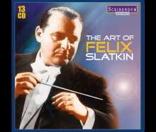 The Art of Felix Slatkin, 13 CDs