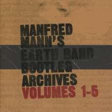Manfred Mann: Bootleg Archives Volumes 1 - 5, 5 CDs