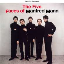 Manfred Mann: The Five Faces Of Manfred Mann, CD