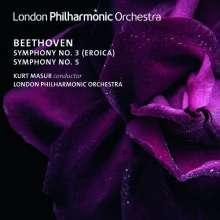 Ludwig van Beethoven (1770-1827): Symphonien Nr. 3 & 5, CD