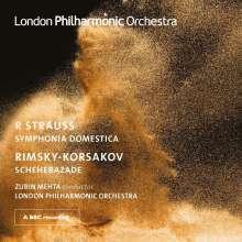Richard Strauss (1864-1949): Sinfonia Domestica op.53, 2 CDs
