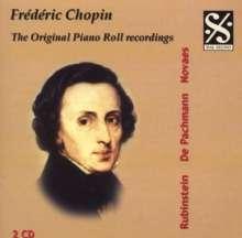 Piano Roll Recordings - Werke von Frederic Chopin, 2 CDs