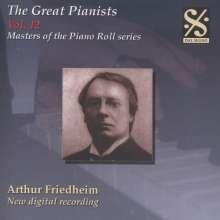 Piano Roll Recordings - Arthur Friedheim, CD