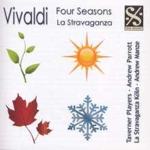 Antonio Vivaldi (1678-1741): Concerti op.8 Nr.1-4, CD