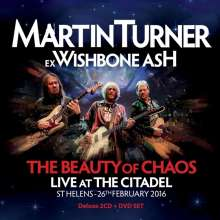Martin Turner: The Beauty Of Chaos: Live At The Citadel St Helens 2016 (Deluxe-Edition), 2 CDs und 1 DVD