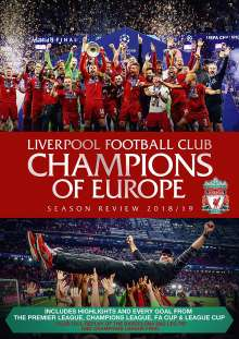 Liverpool Football Club Champions of Europe Season Review 2018/19 (UK-Import), 2 DVDs