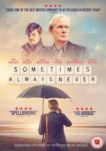 Sometimes Always Never (2018) (UK Import), DVD