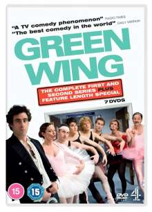Green Wing Season 1 & 2 (Complete Series) (UK Import), 7 DVDs