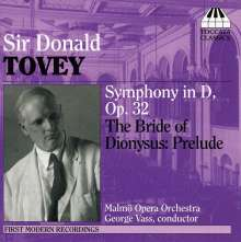 Donald Francis Tovey (1875-1940): Symphonie in D op.32, CD