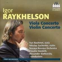 Igor Raykhelson (geb. 1961): Violinkonzert c-moll, CD