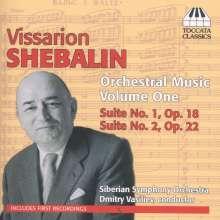Wissarion Schebalin (1902-1963): Orchesterwerke Vol.1, CD