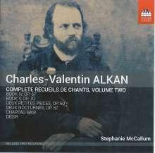 Charles Alkan (1813-1888): Recueils de Chants Vol.2, CD