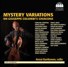 Anssi Karttunen - Mystery Variations on Giuseppe Colombi's Chiacona, CD