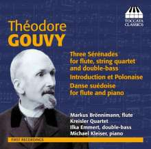 Louis Theodore Gouvy (1819-1898): Serenaden für Flöte & Streicher Nr.1 & 2, CD