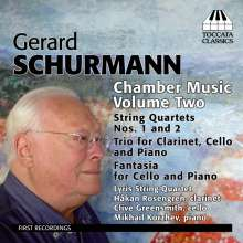 Gerard Schurmann (geb. 1924): Kammermusik Vol.2, CD