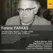 Ferenc Farkas (1905-2000): Orchesterwerke Vol.4 - Musik für Flöte & Streicher, CD