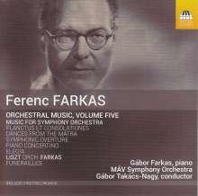 Ferenc Farkas (1905-2000): Orchesterwerke Vol.5 - Musik für Orchester, CD