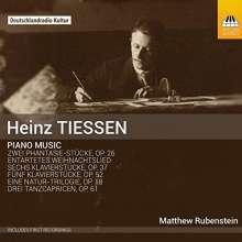 Heinz Tiessen (1887-1971): Klavierwerke, CD
