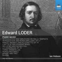 Edward Loder (1809-1865): Klavierwerke, CD