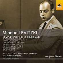 Ossip Gabrilowitsch (1878-1936): Sämtliche Klavierwerke, CD