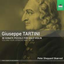 Giuseppe Tartini (1692-1770): 30 Sonate Piccole Vol.4, CD