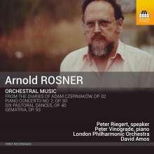 Arnold Rosner (1945-2013): Orchesterwerke, CD