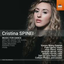 Cristina Spinei (geb. 1984): Music For Dance, CD