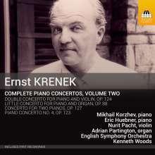 Ernst Krenek (1900-1991): Sämtliche Klavierkonzerte Vol.2, CD