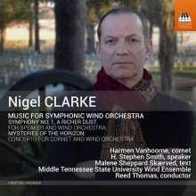 Nigel Clarke (geb. 1960): Werke für symphonisches Blasorchester, CD