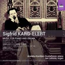 Sigfrid Karg-Elert (1877-1933): Werke für Orgel & Klavier, CD