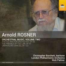 Arnold Rosner (1945-2013): Orchesterwerke Vol.2, CD