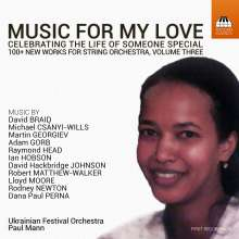 Music For My Love Vol.3 - Celebrating The Life Of Someone Special, CD