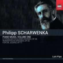 Philipp Scharwenka (1847-1917): Klavierwerke Vol.1, CD