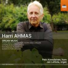 Harri Ahmas (geb. 1957): Orgelwerke, CD