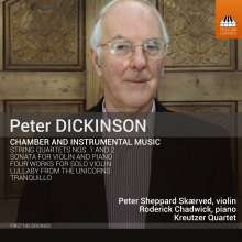 Peter Dickinson (geb. 1934): Kammermusik, CD