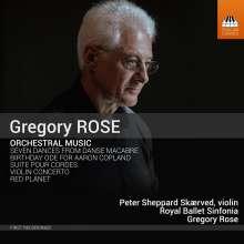 Gregory Rose (geb. 1948): Orchesterwerke, CD