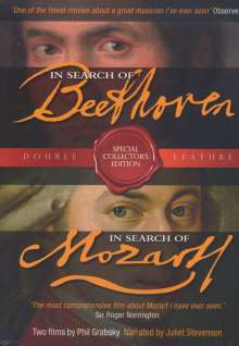 In Search of Beethoven & In Search of Mozart, 3 DVDs