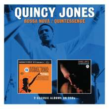 Quincy Jones (geb. 1933): Bossa Nova / Quintessence, 2 CDs