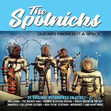 The Spotnicks: Guitars From Out-A Space, 2 CDs