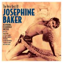 Josephine Baker: The Very Best Of Josephine Baker: 40 Original Recordings, 2 CDs