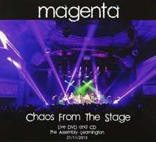 Magenta: Chaos From The Stage, 1 CD und 1 DVD
