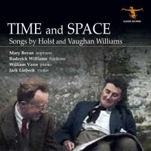 Roderick Williams (geb. 1965): Time And Space: Songs By Holst And Vaughan William, CD