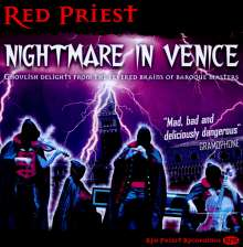 Red Priest - Nightmare in Venice, CD