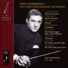 John Barbirolli dirigiert das New York Philharmonic Orchestra, CD