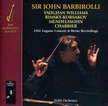 John Barbirolli - Lugano Concert 1961 & Berne Recordings, 2 CDs