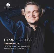 Dmytro Popov - Hymns of Love, CD